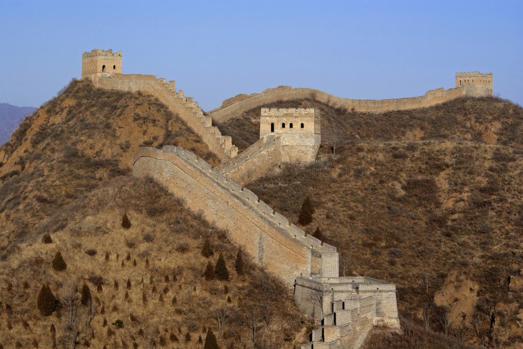visiter la chine la muraille de chine