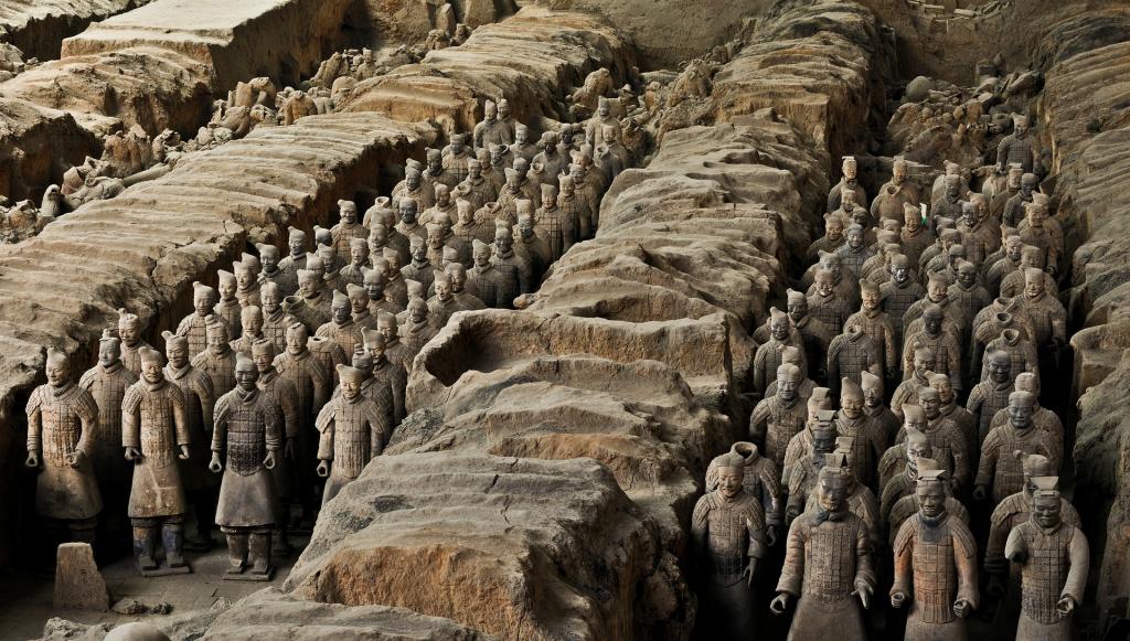 visiter la chine l'armé de terre cuite xi an