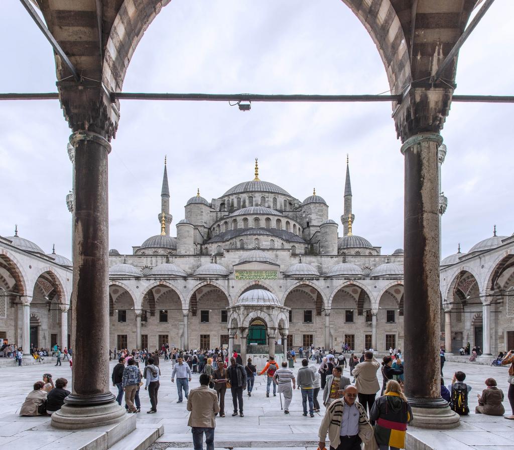 visiter la turquie la mosquée bleue