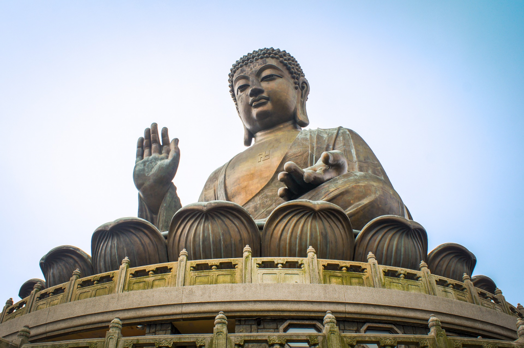 Le Grand Bouddha de Hong Kong
