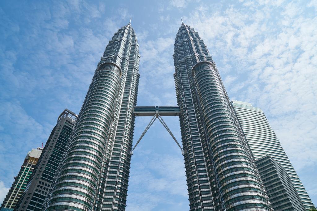 Les tours Pétronas à Kuala Lumpur