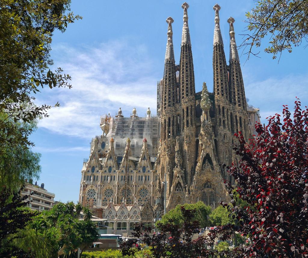 visiter l'espagne Sagrada Familia