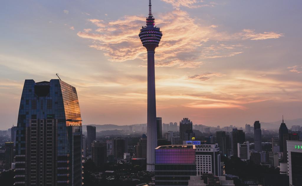 tour de communication KL à Kuala Lumpur